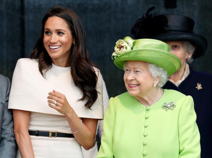 Фото №6 - Почему герцогиня Меган внезапно увлеклась розовым и бежевым