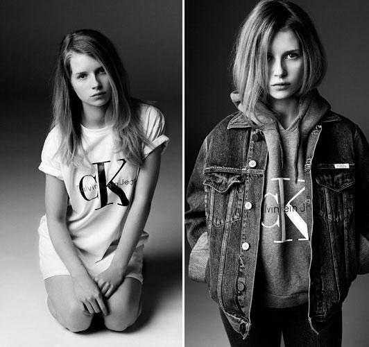 Фото №2 - Младшая сестра Кейт Мосс стала лицом Calvin Klein