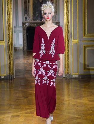 Фото №12 - Неделя Высокой моды в Париже: Ulyana Sergeenko Couture F2015