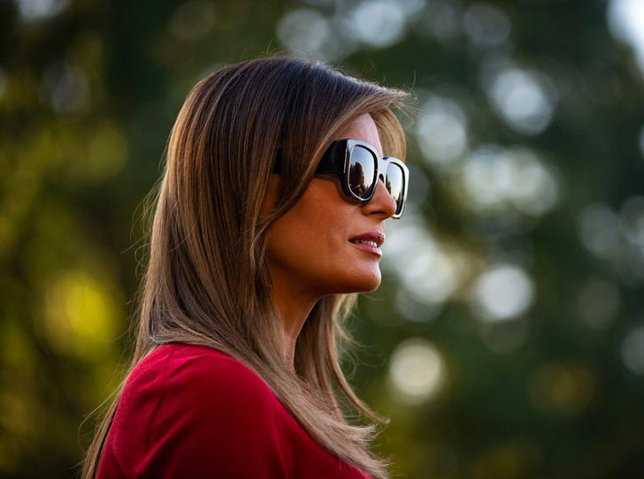 Фото №1 - Чем займется Мелания Трамп во время визита в Великобританию
