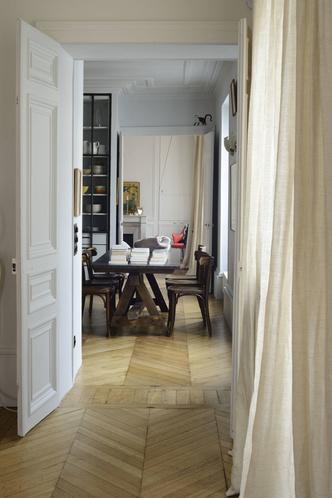 Фото №3 - Парижская квартира для творческой пары с двумя детьми