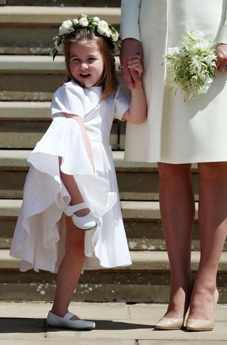 Фото №3 - Подружки и пажи королевских кровей на свадьбах: от принца Джорджа до юной Лилибет