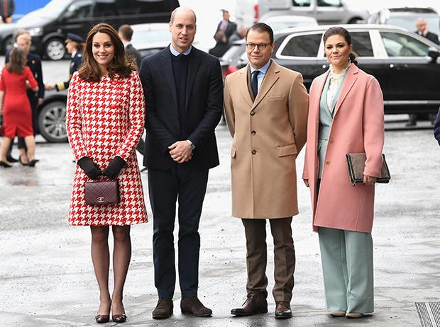 Фото №12 - Кейт Миддлтон и принц Уильям в Швеции: день второй