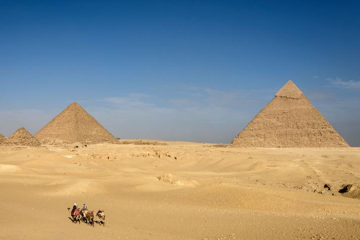 Фото №1 - Новое объяснение идеальной формы египетских пирамид