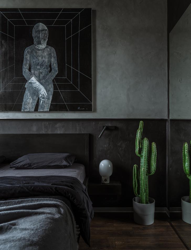 Фото №7 - Брутальная квартира 43 м² для любителя острых ощущений