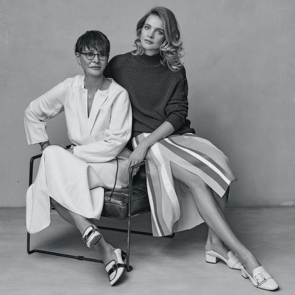 Фото №1 - Наталья Водянова и Ирина Хакамада: сложный разговор
