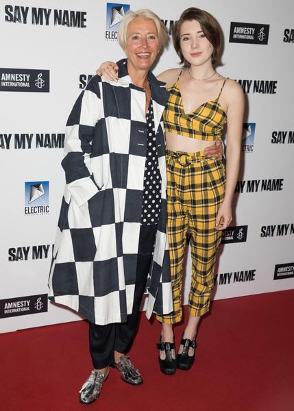 Эмма Томпсон с дочкой