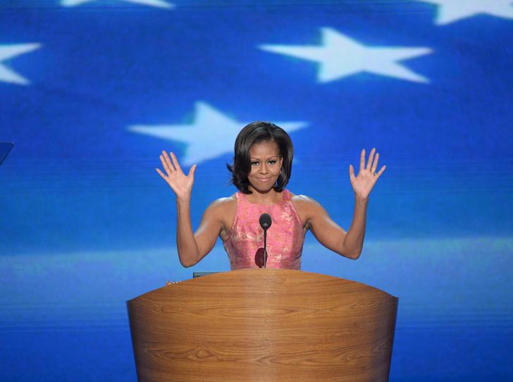 Фото №13 - Мишель Обама и ее триумф: как проходило «становление» Первой леди