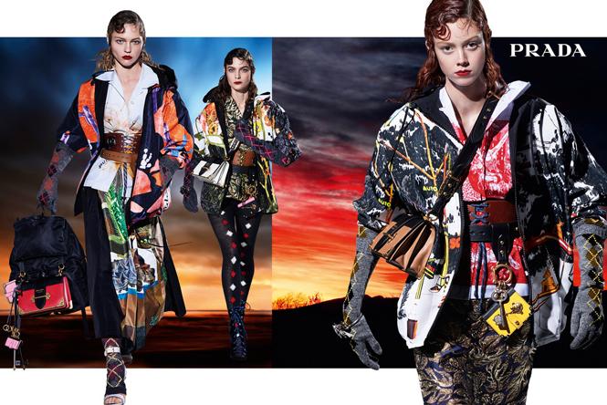 Фото №6 - 27 ярких моделей в осенней рекламной кампании Prada