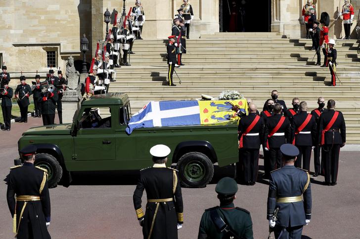 Фото №26 - Последний путь принца Филиппа: как королевская семья прощалась с любимым мужем, отцом и дедушкой