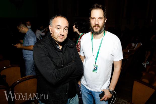 Александр Роднянский и Александр Цыпкин