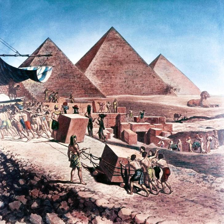 Фото №1 - Сколько стоило бы сегодня построить пирамиду Хеопса?
