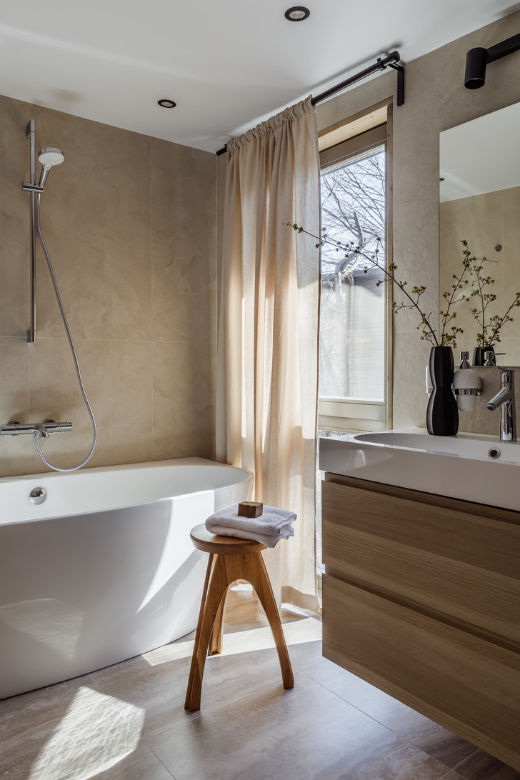 Фото №5 - Осенняя атмосфера в ванной: 5 полезных советов