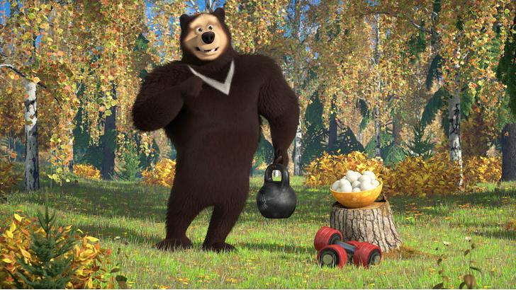 Фото №4 - По лесу идет: 5 интересных фактов о медведях на примере мультсериала «Маша и Медведь»