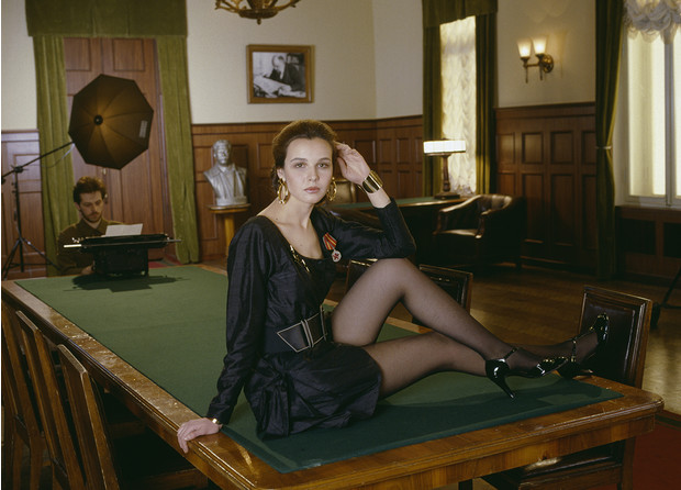 Фото №6 - «Красные звезды перестройки»: популярные советские актрисы в съемке американского фотографа, 1988 год