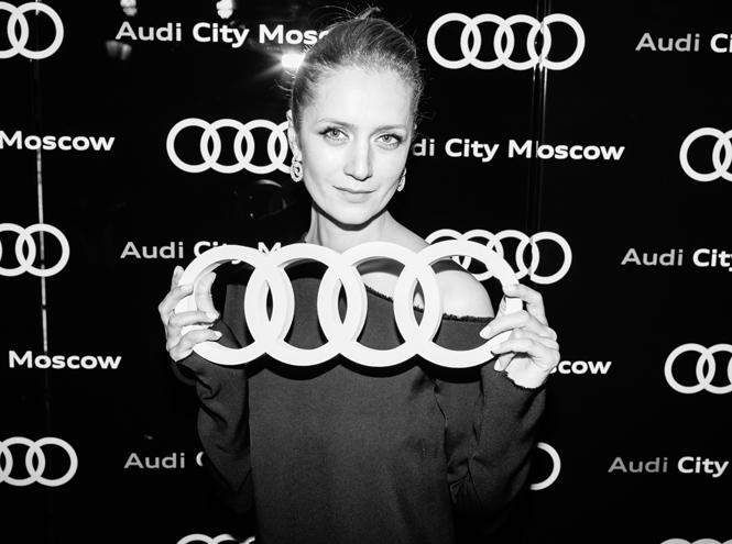 Фото №4 - Ксения Собчак, Иван Ургант и другие звезды на открытии Audi City Moscow