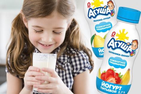 Фото №1 - Говорит и показывает «Агуша»: Почему стоит кормить малышей детским питанием?