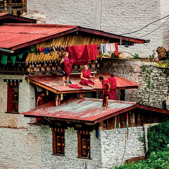 Фото №11 - Свобода под надзором: репортаж из Бутана