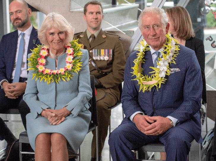 Фото №2 - Почему герцогиня Камилла вернулась из тура по Новой Зеландии в одиночестве