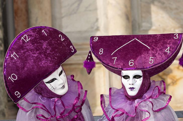 Фото №1 - Карнавальные маски