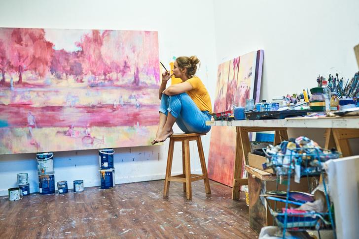 предсказание, онлайн-гадание, известные картины, современные художники, Ксения Флейшер