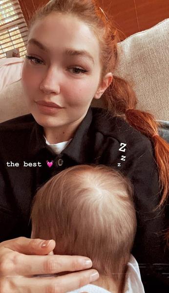 Джиджи Хадид цвет волос рыжие звезды фото 2021