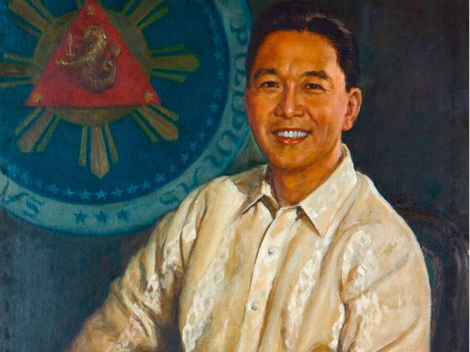 Президент Филиппин Фердинанд Маркос