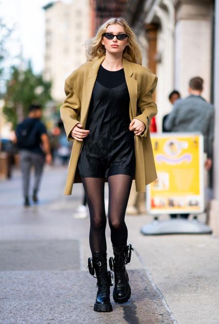 Эльза Хоск в Нью-Йорке