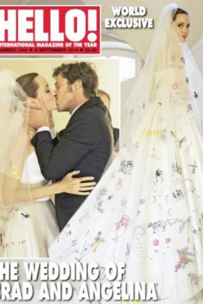 Фото №1 - Грустный праздник: Джоли старается отвлечь детей в 6-ю годовщину свадьбы с Питтом