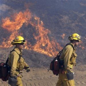 Фото №1 - Калифорния в огне
