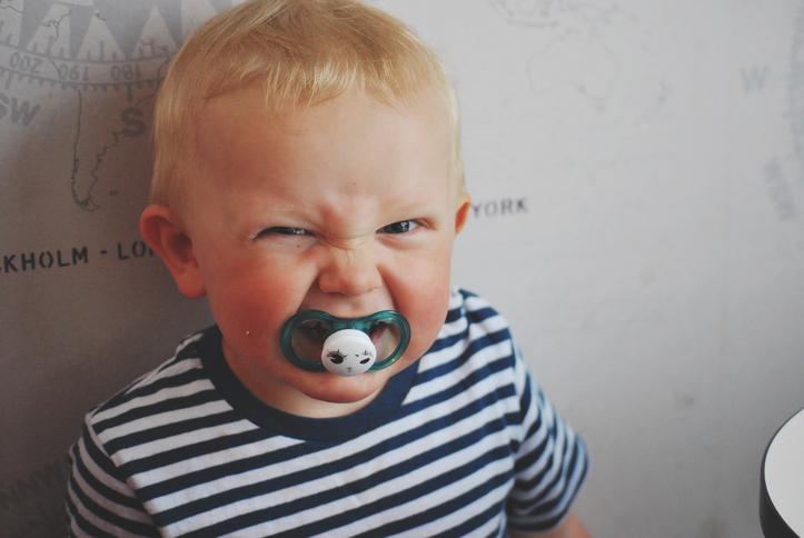 Приступы злости у ребенка