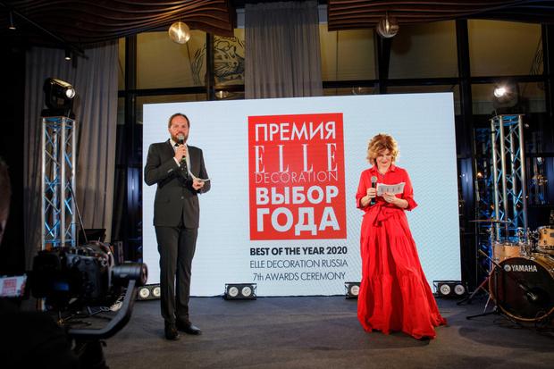 Фото №1 - VII церемония награждения победителей Премии ELLE DECORATION «Выбор года»