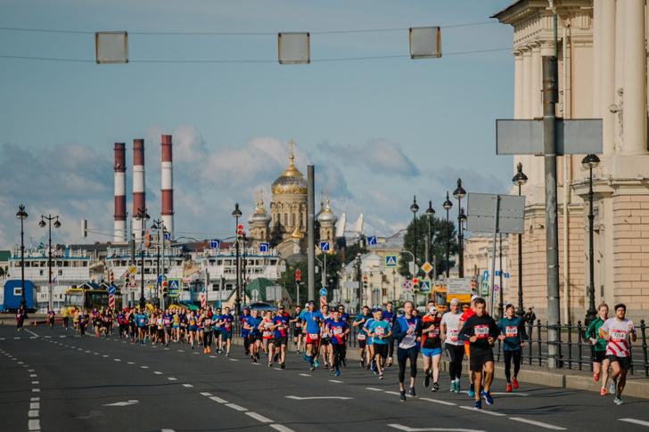 Фото №2 - В Санкт-Петербурге прошел полумарафон
