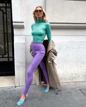 Фото №9 - Стиль Эльзы Хоск: как одевается самая яркая топ-модель новой эпохи