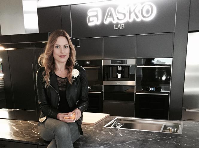 Фото №2 - Ника Зупанц приглашает на интерактивную кухню Asko