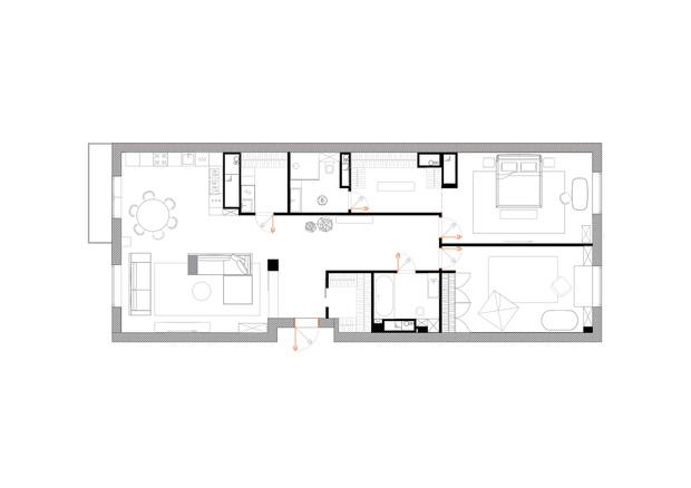 Фото №18 - Квартира в жемчужных оттенках в новом доме на Яузе