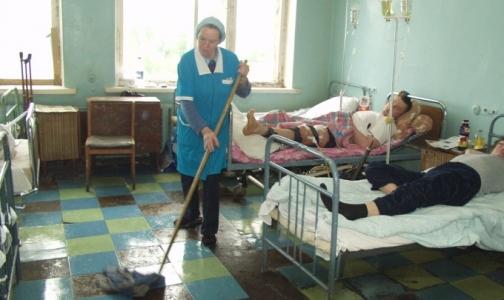 Фото №1 - Клиники Петербурга остались без санитарок