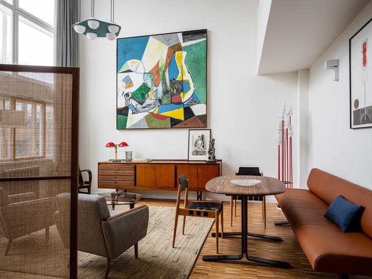 Фото №1 - Сила случая: квартира в доме Наркомфина по проекту Ananiev Interiors