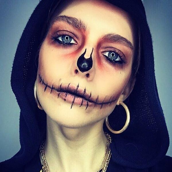 Фото №44 - 25 идей, как раскраситься на Хэллоуин