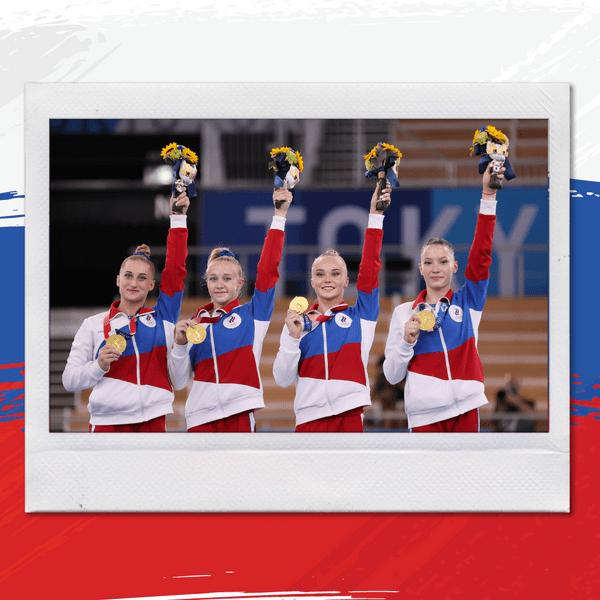 Фото №1 - Все секреты идеального пучка: учимся у российских гимнасток 🤩