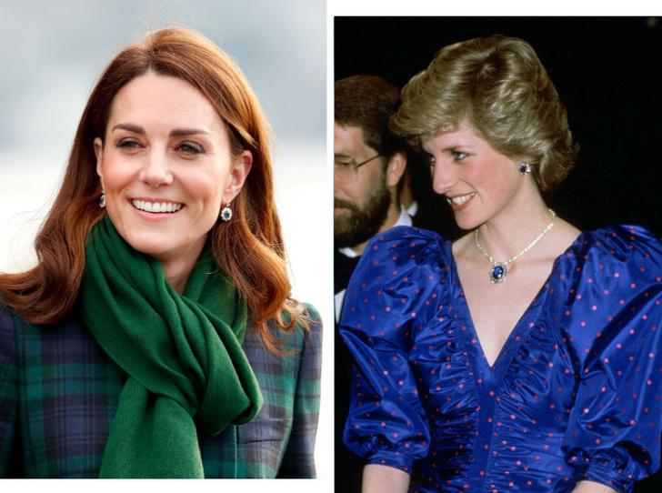 Фото №1 - Наследие Дианы: как Кейт изменила украшения принцессы Уэльской