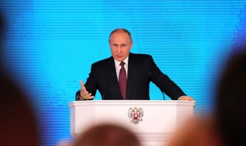 Фото №1 - Владимир Путин: Низкая рождаемость угрожает экономике страны