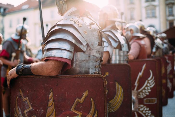 Фото №1 - Древние римляне наградили захваченных британцев вшами и паразитами