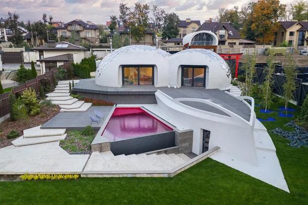 Фото №16 - Удивительный дом-пузырь под Харьковом