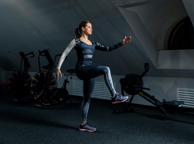 Фото №11 - Катерина Шпица: секреты красоты и комплекс упражнений для хорошей формы