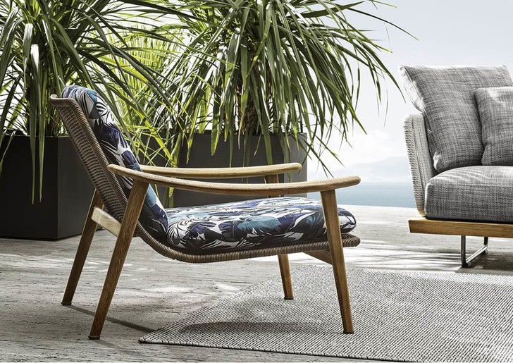 Фото №2 - Вещь месяца: кресло Fynn от Minotti