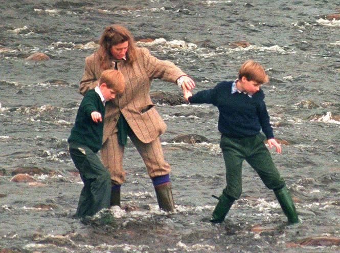 Фото №7 - Тигги Легг-Брук: любимая няня Уильяма и Гарри и кошмар принцессы Дианы