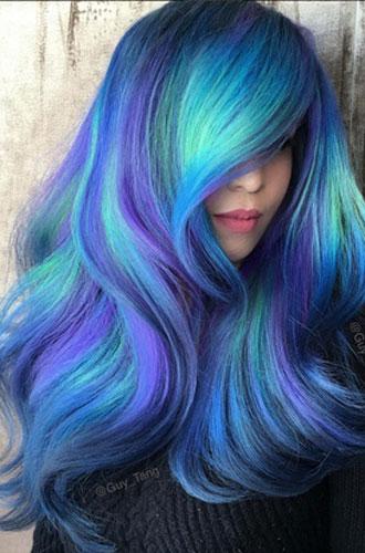Фото №10 - Бьюти-тренд: разноцветные волосы