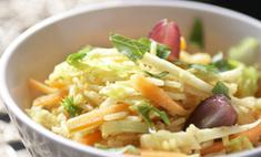 Рисовый салат с овощами и йогуртовой заправкой