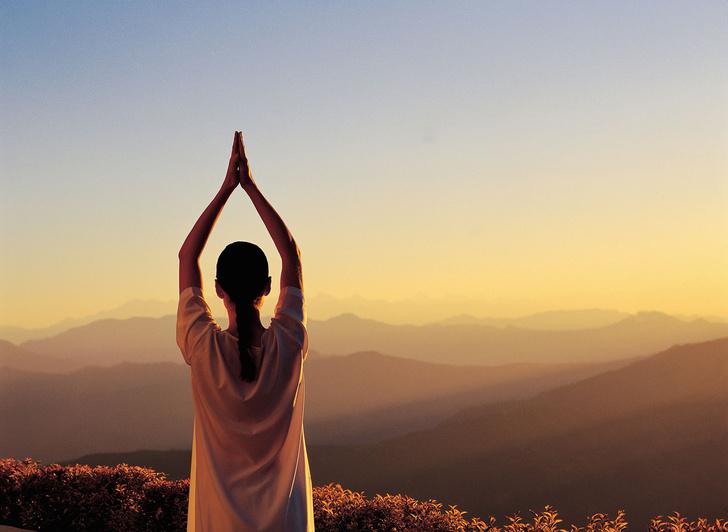 Хорошая идея: йога на праздниках фото [4]